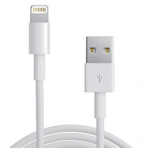 Cable de conector Lightning a USB de un 1 m Repuestos iPhone 5