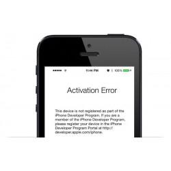 Solución Error iPhone