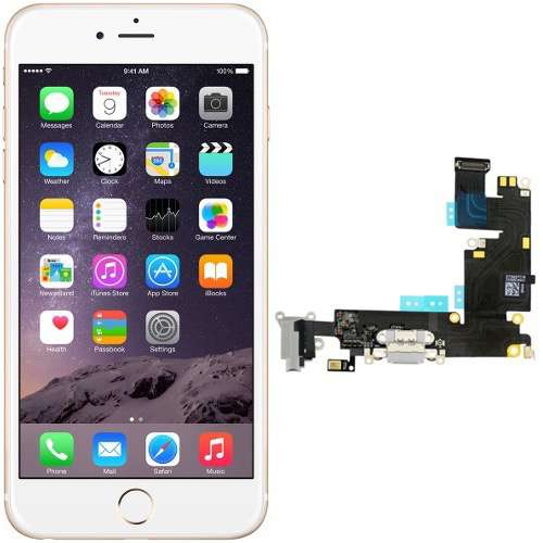 Reparar Conector Lightning Microfono iPhone 6 Plus - Servicio Técnico iPhone 6 Plus iPhone 6 Plus - Reparaciones