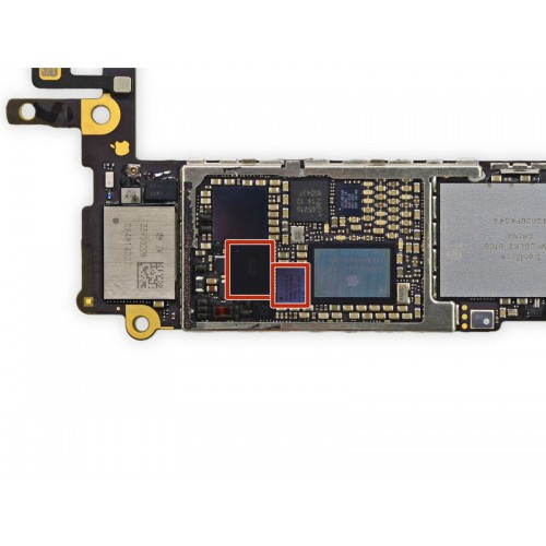 IC Chip Touch iPhone - iPhone Falla de Táctil Reparaciones en placa base