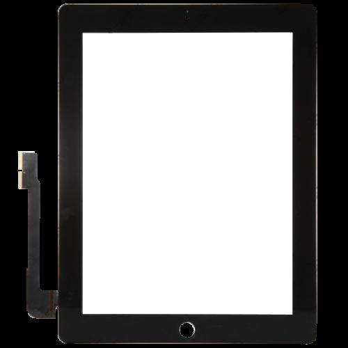 Cristal Táctil iPad 3 iPad 4 Negro Repuestos iPad 3